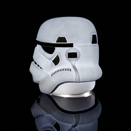 star wars stormtrooper lampe alphageek. Black Bedroom Furniture Sets. Home Design Ideas