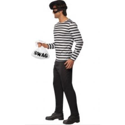 bankrøver kostume
