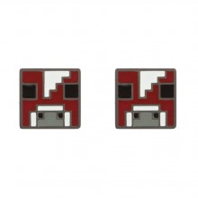 Minecraft Mooshroom Øreringe