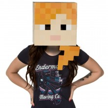 Minecraft Alex Hoved