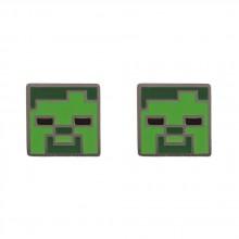 Minecraft Zombie Øreringe