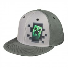 Minecraft Creeper Inside Cap
