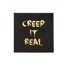 Barokservietter Creep It Real 16-pak