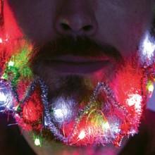 Skægdekoration Julebelysning & Glitter
