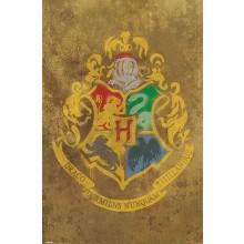 Harry Potter (Hogwarts Våbenskjold) Plakat