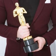 Toiletbørste Oscarstatuette