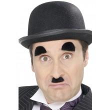 Moustache og Øjenbryn Charles Chaplin