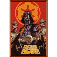 STAR WARS (FLY FOR GLORY) PLAKAT
