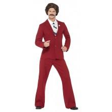 Anchorman Ron Burgundy Kostume