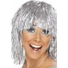 Glitterparyk Sølv