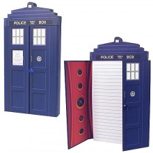 Doctor Who TARDIS Deluxe Notesblok