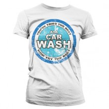 Breaking Bad A1A Car Wash Girly T-Shirt Hvid