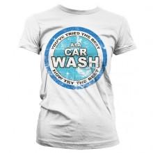 Breaking Bad A1A Car Wash Girly T-Shirt Hvid