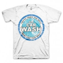 Breaking Bad A1A Car Wash T-Shirt Hvid