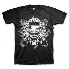 Breaking Bad Heisenberg T-Shirt Sort