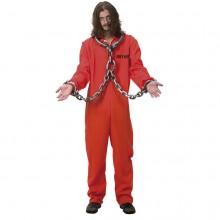 Amerikansk Fange Udklædningskostume