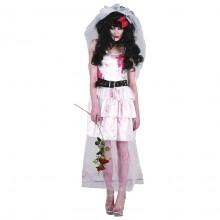 Zombie Bride Udklædningskostume