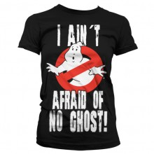 Ghostbusters I Ain't Afraid T-Shirt Dame Sort