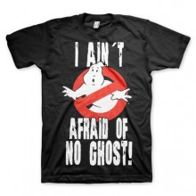 Ghostbusters I Ain't Afraid T-Shirt Sort