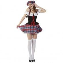 Skotsk Udklædningskostume Dame