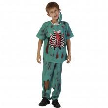 Zombie Doktor Udklædningskostume Barn