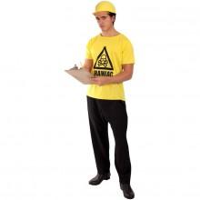 Brainiac T-Shirt Udklædningskostume