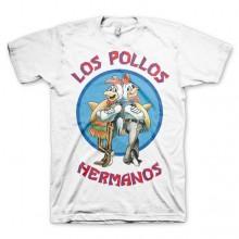 Breaking Bad Los Pollos Hermanos T-Shirt Hvid