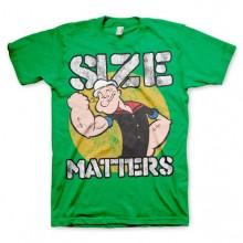 Popeye Size Matters T-Shirt Grøn