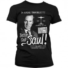Breaking Bad Better Call Saul Dame T-Shirt Sort
