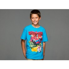 Minecraft Sam Cube Battle Barn T-Shirt