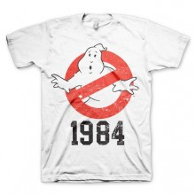 Ghostbusters 1984 T-Shirt Hvid