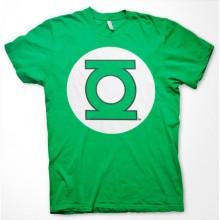 Green Lantern Logo T-Shirt Grøn