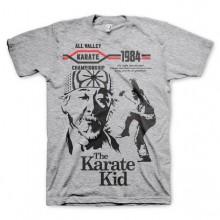 The Karate Kid T-Shirt Grå