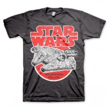 Star Wars Millennium Falcon T-Shirt Mørk Grå