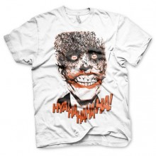 Batman The Joker - HyaHaHaHa T-SHirt Hvid