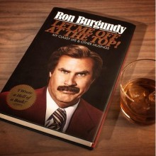 Ron Burgundy - Let Me Off at the Top! - Bog