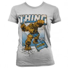 The Thing Action Girly T-Shirt Hvid