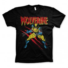 Wolverine Scratches T-Shirt Sort