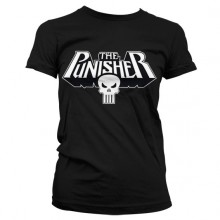 The Punisher Logo Girly T-Shirt Sort