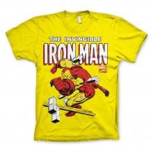 The Invincible Iron Man T-Shirt Gul
