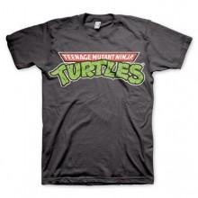 TMNT - Classic Logo T-Shirt Mørkegrå