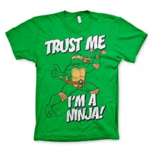 TMNT - Trust Me, I´m A Ninja T-Shirt! Grøn
