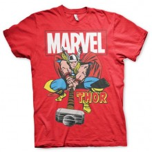 THE MIGHTY THOR T-SHIRT (RØD)