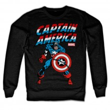 CAPTAIN AMERICA SWEATSHIRT (SORT)