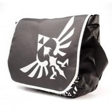 Nintendo - Zelda Black MB Logo Front Taske
