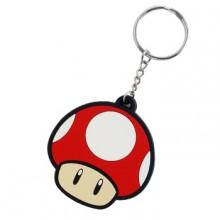 Nintendo Rød Svamp Nøglering