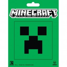 Minecraft Creeper Face Klistermærke