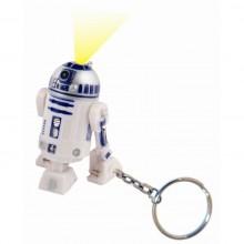 Star Wars R2-D2 Nøglering med Lommelygte
