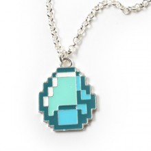 Minecraft Diamond Pendant Halskæde
