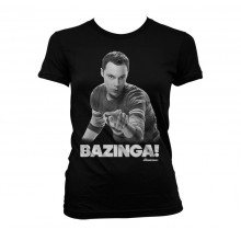 Sheldon Says BAZINGA! Pigetrøje